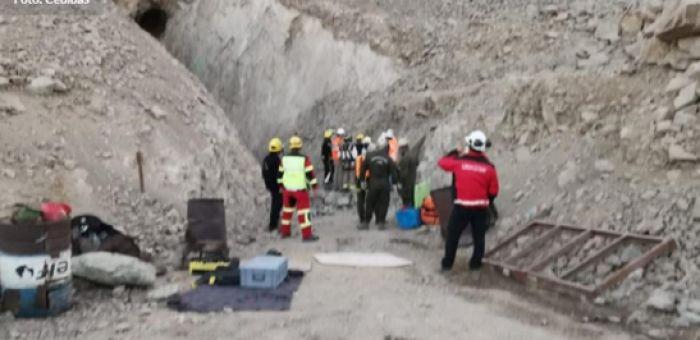 Derrumbe en mina con prohibición de funcionamiento dejó un muerto en Tierra Amarilla